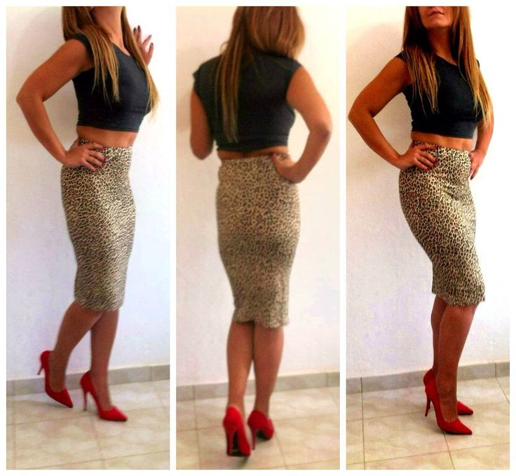 Leopard skirt like us on Facebook titiluluboutique