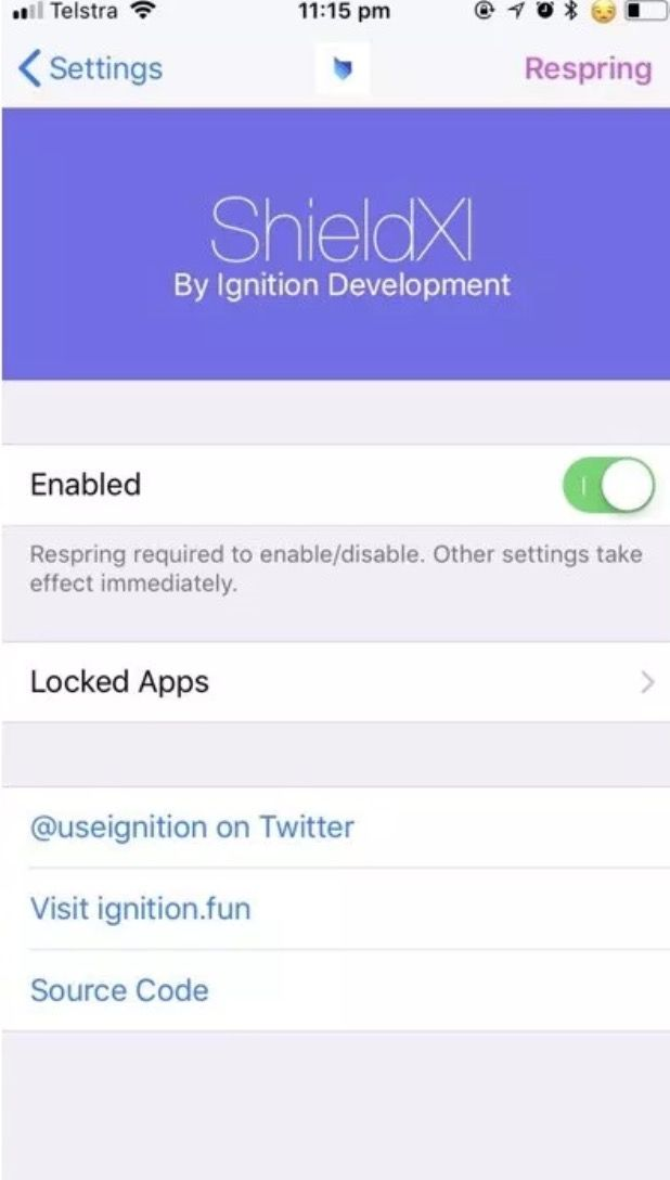 ShieldXI Cydia Tweak for iOS 11/12: FaceID Protect Messages and