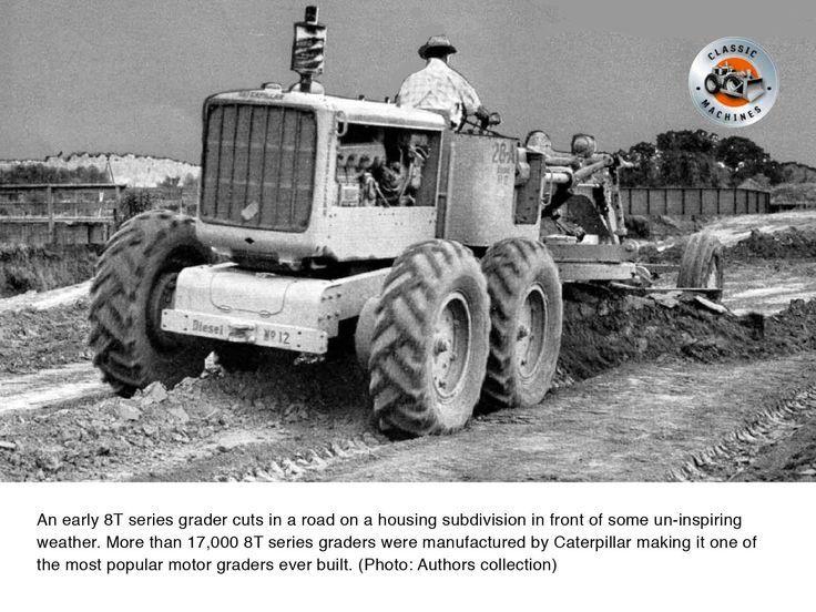Classic Machines Caterpillar S No 12 Motor Grader Contractor Magazine Motor Grader Graders Caterpillar