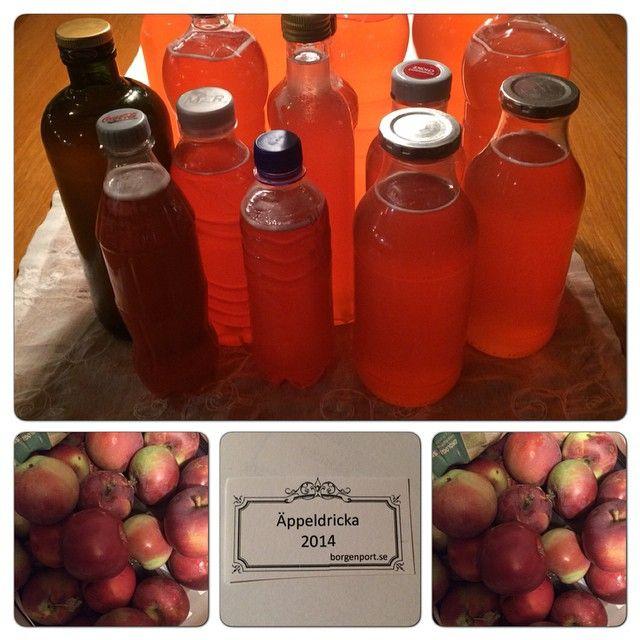 Härligt med hösten då man kan fylla på förrådet med många goda saker. Gå in på min hemsida borgenport.se där hittar du receptet på denna underbart goda Äppeldricka! Ha en skön helg!