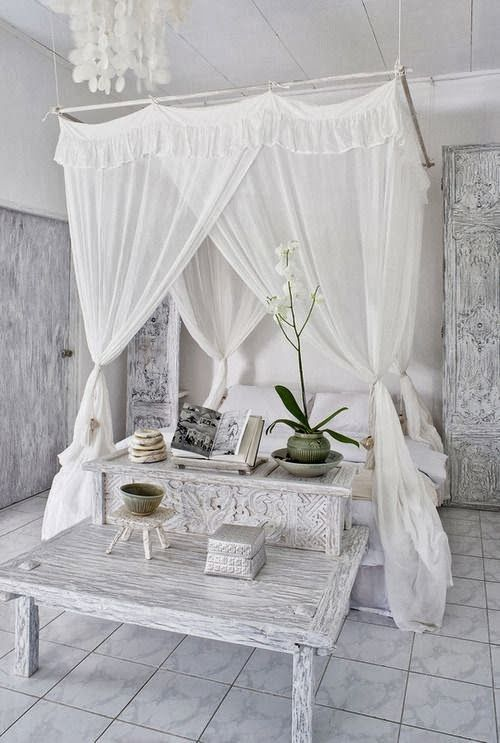 There is something timeless and classy about white. Although I think adding more green to this room might be the solution to avoiding the West-side overcast vibe.