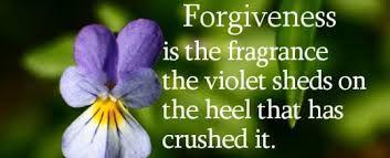 Choosing forgiveness brings fragrant life because of Jesus.
