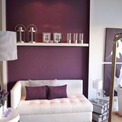 Grey And Purple Living Room Interiors Home Decor