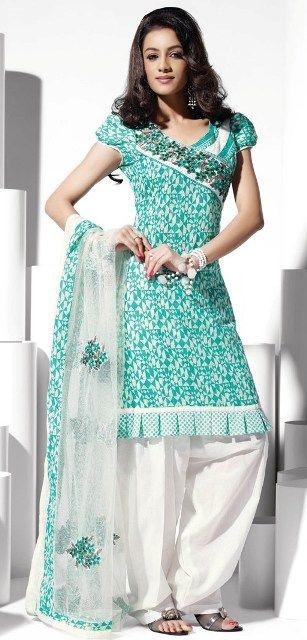 Indian Salwar Kameez Fashion-Indian Salwar Suits Designs 2013 Repinned by:www.betandallas.com