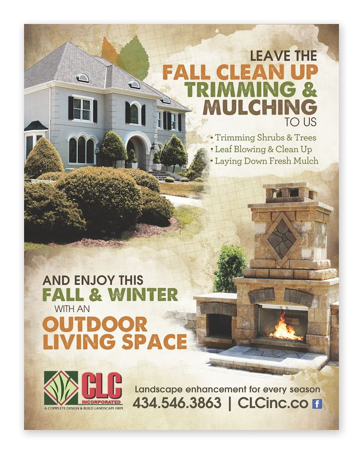 Landscape/Hardscape business ad. #advertising #lawncare ...