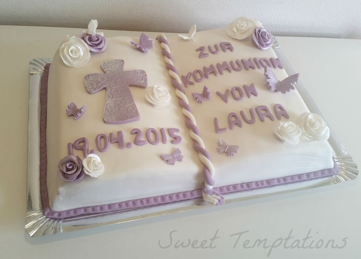 Communion book cake