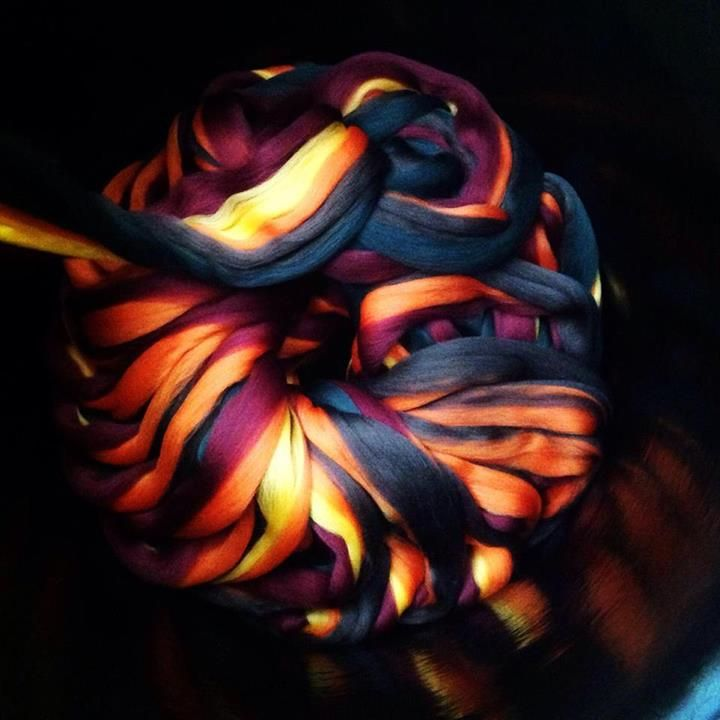 Fibre ready to spin into Viola yarn - John Arbon Textiles
