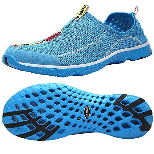 8813f7940a6 Aleader Women s Mesh Slip On Water Shoes  Athletic Shoes ...