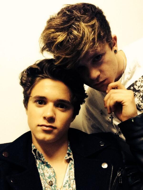 Brad and Connor