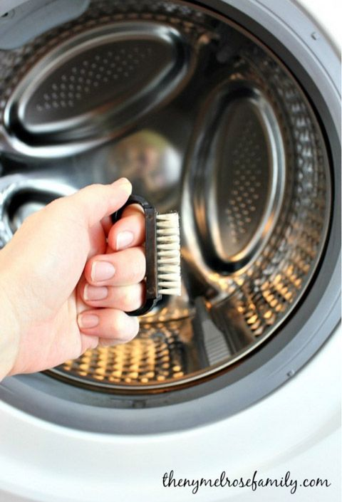 how to clean front load washer organize me pinterest front load washer washer and cleaning. Black Bedroom Furniture Sets. Home Design Ideas