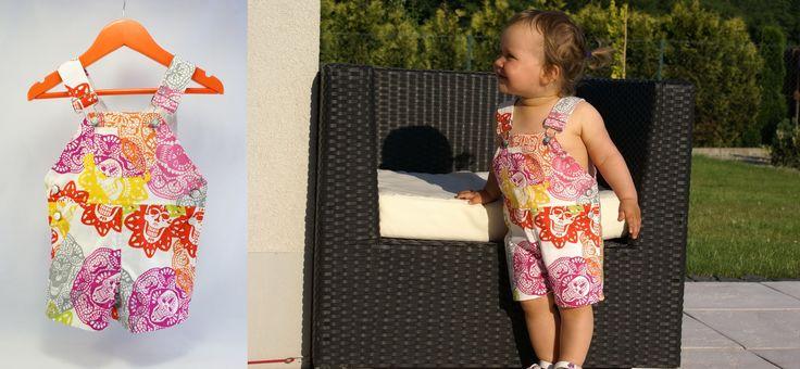#littlesophie #overalls #kids #forkids #baby #design #skull #summer #handmade #madeinpoland