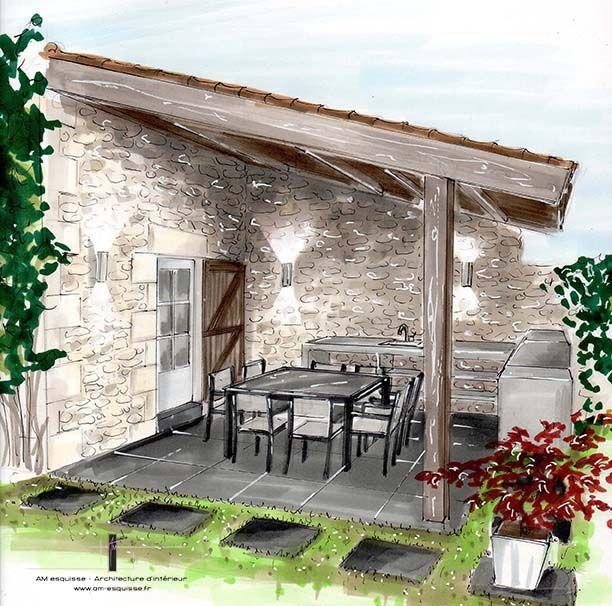 maison dessin architecte interieur. Black Bedroom Furniture Sets. Home Design Ideas