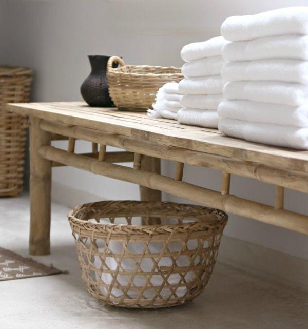 handdoek stapel badkamer