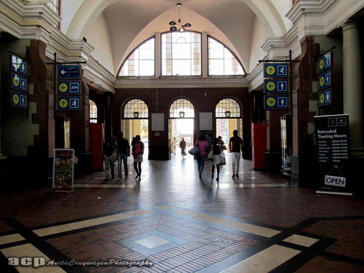 Entrance hall of the Pretoria Station,Pretoria, South Africa