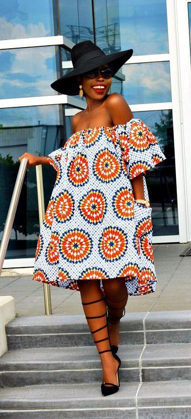 African clothing, African fabric, Ankara Dress, African print dress, African…                                                                                                                                                                                 More