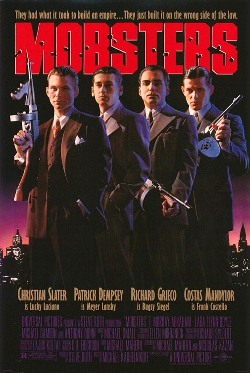 Mobsters Movie Poster - Internet Movie Poster Awards Gallery