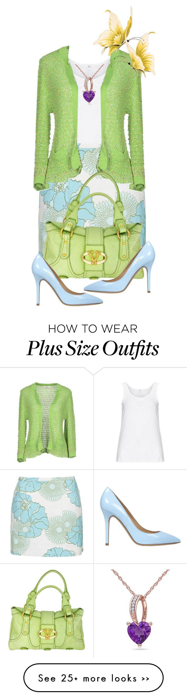 """Spring Daze"" by rosiepeter on Polyvore featuring Zhenzi, Topshop, Swap Inside, Semilla and Ice"