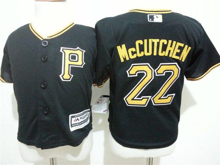 Infant MLB Pittsburgh Pirate #22 Andrew McCutchen Jerseys