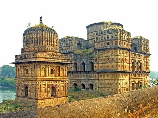 Orchha (or Urchha) is a town in Tikamgarh district of Madhya Pradesh state, India.