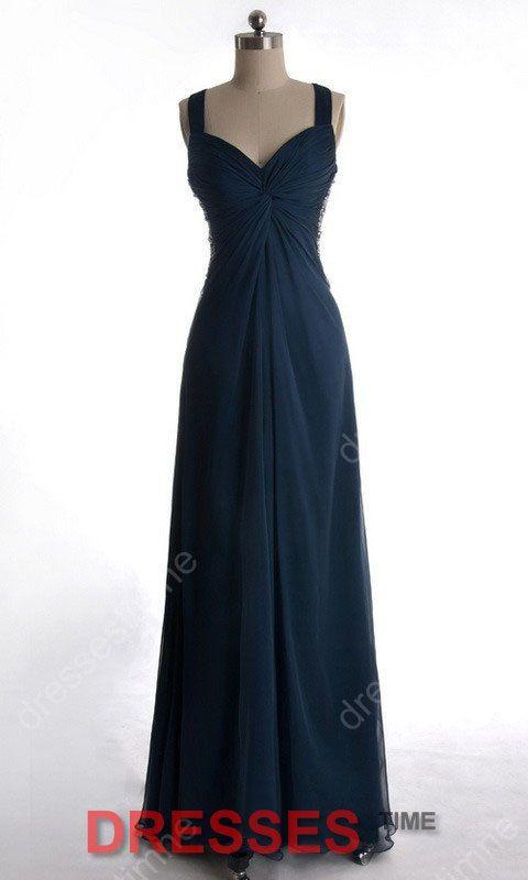 Long bridesmaid dress  Navy bridesmaid dress / plus by dressestime, $109.99