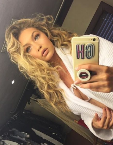 This isn't what Gigi Hadid's hair looks like anymore...