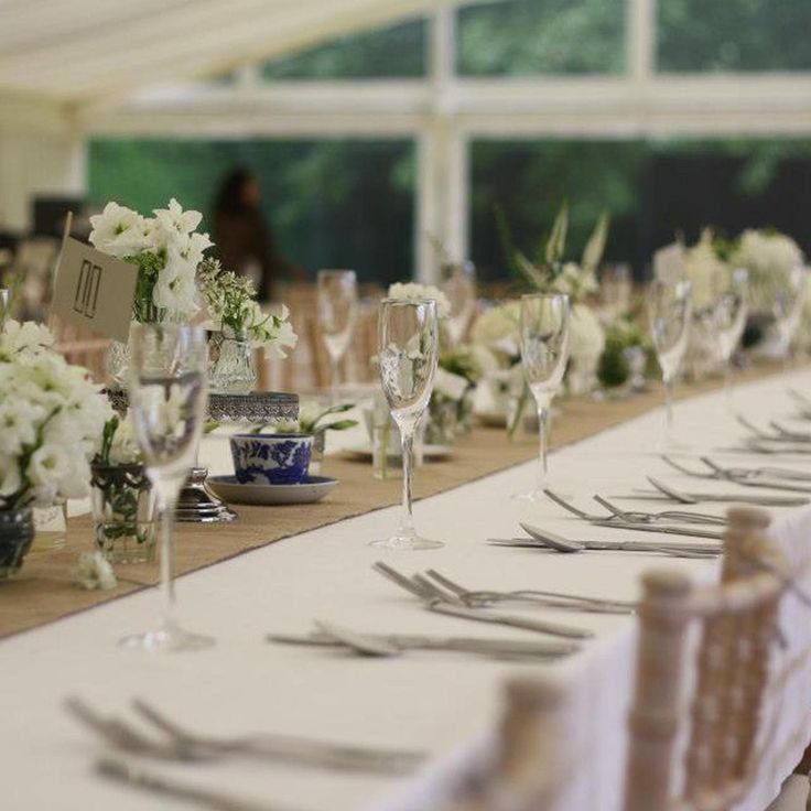 Hessian Burlap Fabric By The Metre - The Wedding of My Dreams