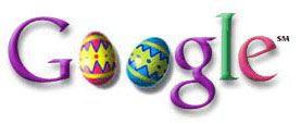 Google Doodle 11. Happy Easter 2000
