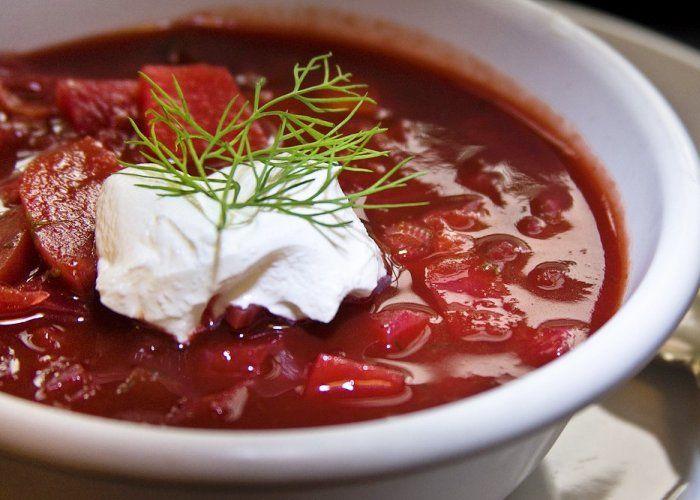 Borscht--ricetta tipica russa