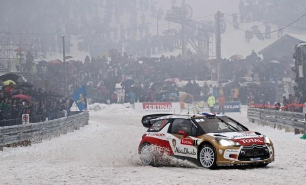 Sébastien Loeb @ Col de Turini - Rallye Monte-Carlo SS14