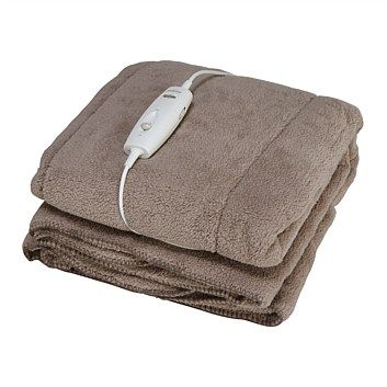 Briscoes - Sunbeam BL3221S Cozy Fleece Heated Electric Throw