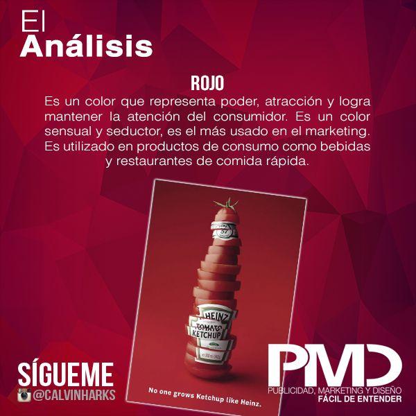 El análisis del color rojo en la publicidad, marketing y diseño. #tips #PMD