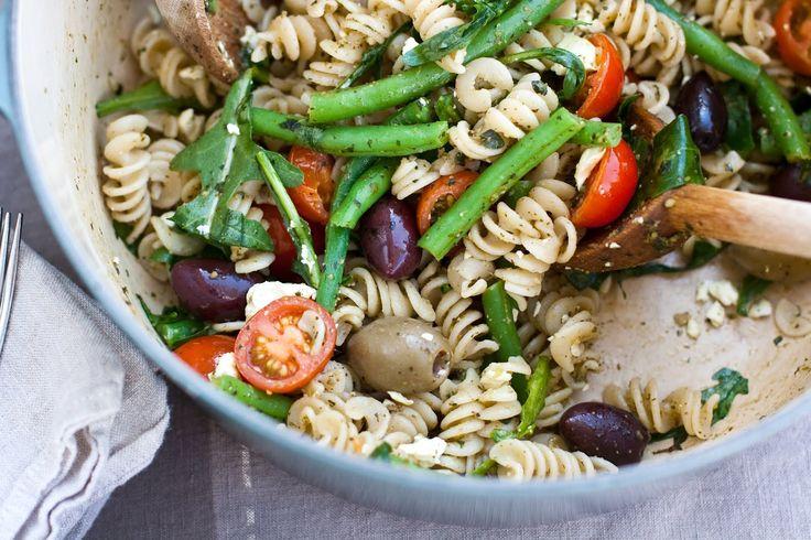 keep it simple, keep it fresh: light and easy gluten free pasta salad