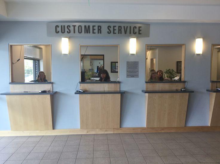 Customer Service in 2020 | Business office design, Cashier ...