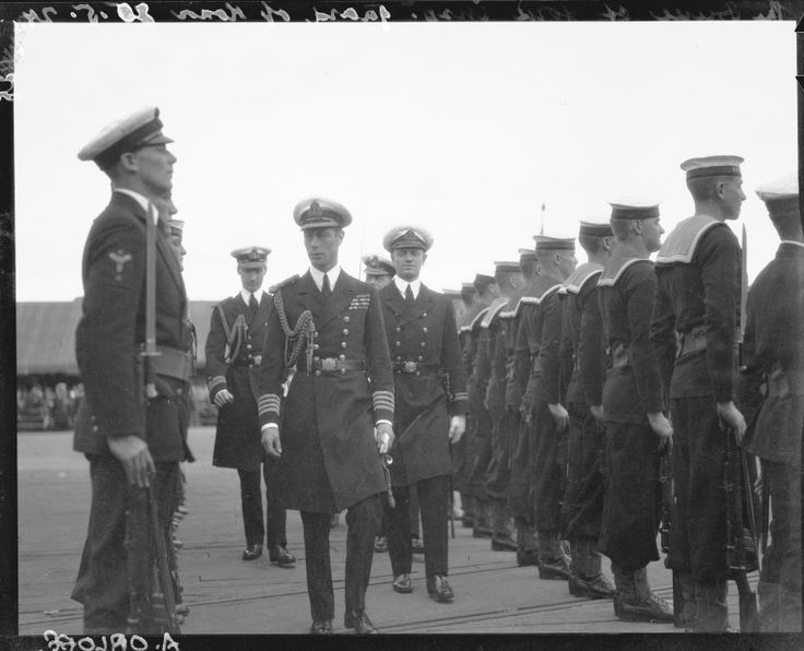 112427PD: Duke inspects naval guard of honour during the visit of the Duke and Duchess of York to Perth WA, 1927.  http://encore.slwa.wa.gov.au/iii/encore/record/C__Rb2214867__S112424pd__Orightresult__U__X3?lang=eng&suite=def