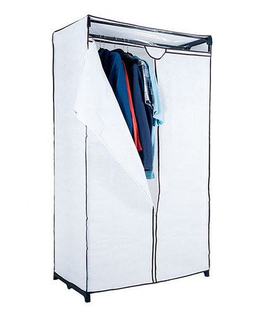 Look at this #zulilyfind! White Portable Closet #zulilyfinds
