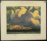 Group Of Seven Ltd Art Print - Storm Clouds - TOM THOMSON $29.99