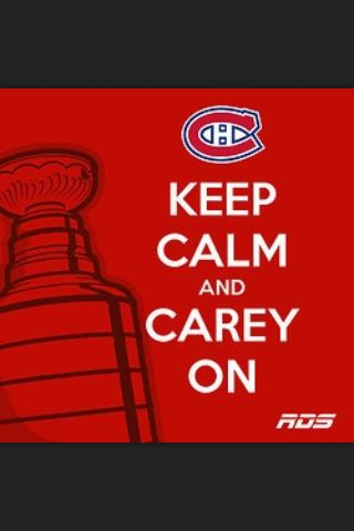 Keep calm and Carey on Carey price montreal canadiens NHL hockey