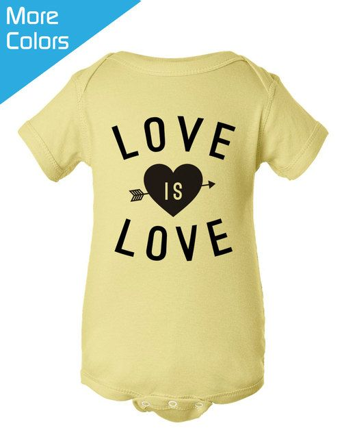 Love Is Love Baby Shirt