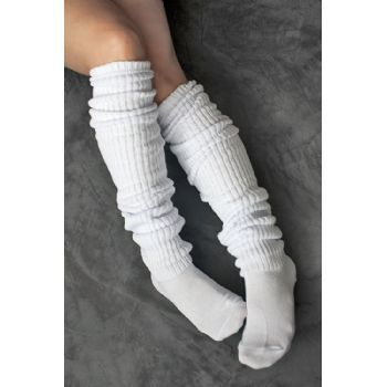80S Slouch Socks | Pack Ladies Super Slouch Sock Size 9-11