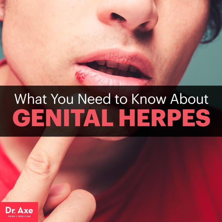 Genital Herpes Symptoms, Risk Factors & Treatments - Dr. Axe