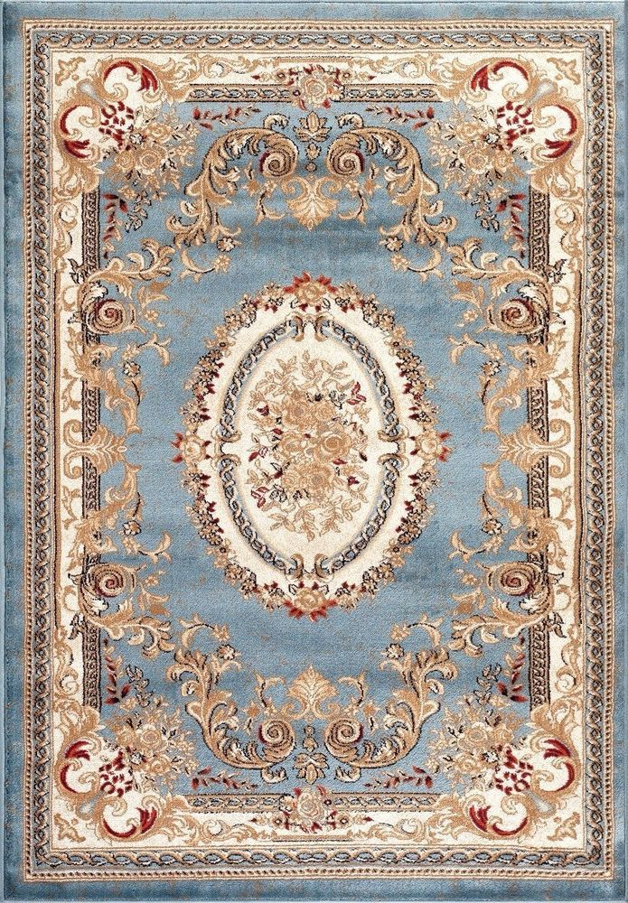 details about blue traditional 8x10 european 5x7 medallion 5x8 oriental large area rugs 8x11