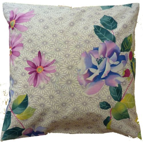 Cushion cover vintage retro designer fabric stripes flower Aztec animal print in Home, Furniture & DIY, Home Decor, Cushions | eBay
