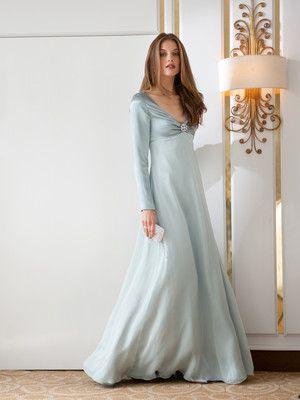 burda style, Schnittmuster zum Download - Abendkleid im klassischen Empirestil