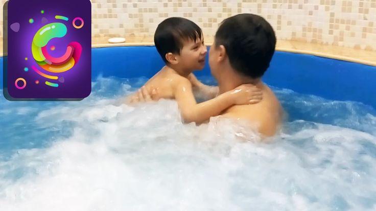 Битва с бурбулятором. Игры и занятия в бассейне для детей