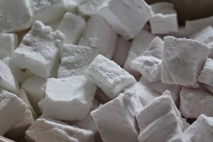 Marias Madside: Skumfiduser - vanille og hindbær