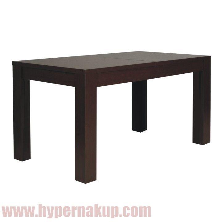 Jedálenský stôl, 140/180x85 cm, rozkladací, sosna lareto, PELLO TYP 75