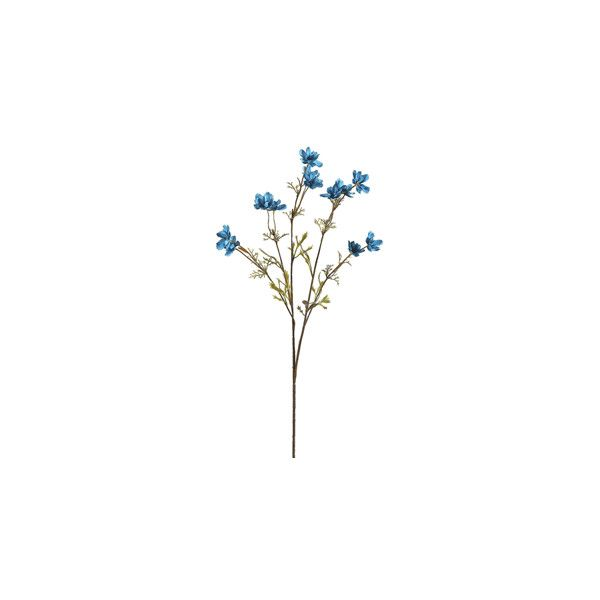 Silk Cosmos Spray in Turquoise   Artificial Flowers   Afloral.com ($3.69) ❤ liked on Polyvore featuring home, home decor, floral decor, flowers, filler, fake flower arrangement, fake flowers, artificial silk flowers, silk flower arrangement and turquoise home decor
