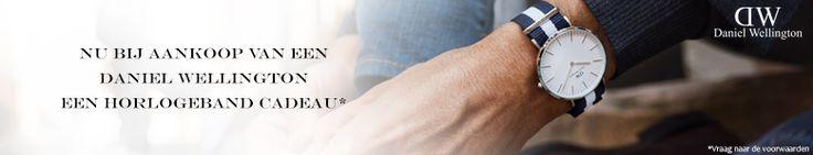 Daniel Wellington horloges online bestellen. Officieel dealer Kish.nl