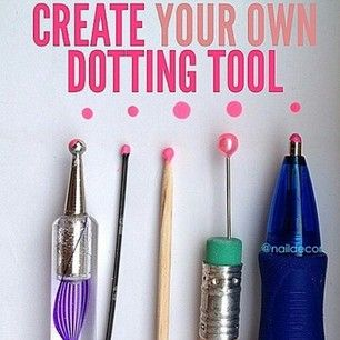 Want to create cool nail art but don�t have the tools? Totally cool. | 44 Lazy Girl Beauty Hacks To Try Right Now