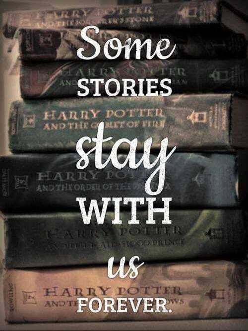 #HarryPotter The best story ever told. My favorite book series of all time. Thank you J.K. Rowling for reminding us that the magic we need to change this world is already inside of us!